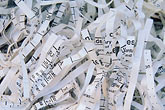 oakland stock photography | California, Oakland, Shredded paper, image id 6-307-11