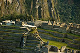 plaza stock photography | Peru, Machu Picchu, Sacred Plaza and agricultural terraces, image id 8-760-1472