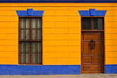 image 8-760-2102 Peru, Callao, Colorful historic buildings in port of Callao
