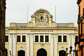front view stock photography | Peru, Lima, Desamparados Train Station, front view, image id 8-760-462