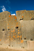 hand carved mortised granite blocks stock photography | Peru, Ollantaytambo, Inca ruins, Sun Temple, hand-carved mortised granite blocks, image id 8-760-861