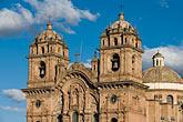 iglesia de la compania de jesus stock photography | Peru, Cuzco, Iglesia de la Compa��a de Jesus, Plaza de Armas, image id 8-761-1028