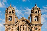 iglesia de la compania de jesus stock photography | Peru, Cuzco, Iglesia de la Compa��a de Jesus, Plaza de Armas, image id 8-761-1057