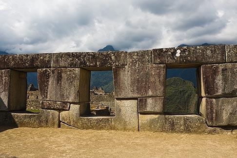 image 8-761-1744 Peru, Machu Picchu, Temple of the Three Windows