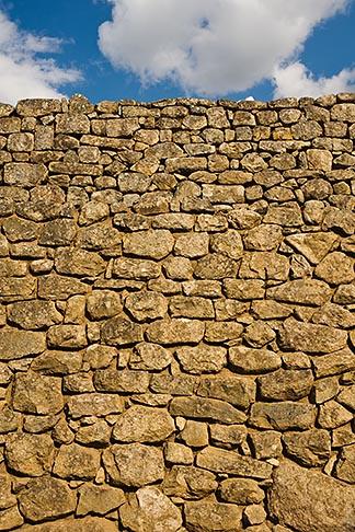 image 8-761-1816 Peru, Machu Picchu, Inca stone wall, closeup