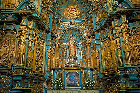 image 8-761-532 Peru, Lima, Lima Cathedral, side altar