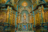 lima cathedral stock photography | Peru, Lima, Lima Cathedral, side altar, image id 8-761-532