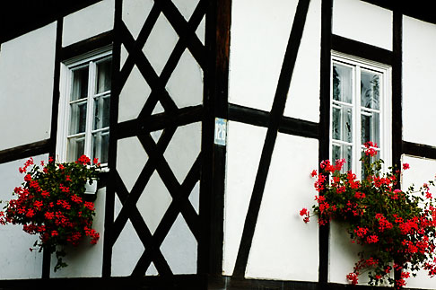 image 4-960-1240 Poland, Jelenia Gora, Timbered house