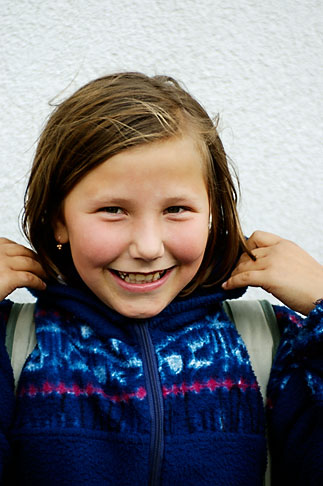 image 4-960-1302 Poland, Jelenia Gora, Young girl