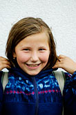 innocence stock photography | Poland, Jelenia Gora, Young girl, image id 4-960-1302