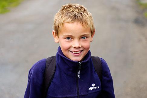 image 4-960-1312 Poland, Jelenia Gora, Young boy
