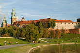 castle stock photography | Poland, Krakow, Wawel, Royal Castle, image id 7-730-482