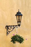 wrought iron street lamp stock photography | Poland, Krakow, Wrought iron street lamp, image id 7-730-595