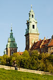 cathedral and royal castle stock photography | Poland, Krakow, Wawel, Cathedral and Royal Castle, image id 7-730-8206
