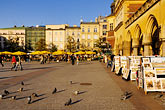 grand square stock photography | Poland, Krakow, Rynek Glowny, Grand Square,, image id 7-730-8453
