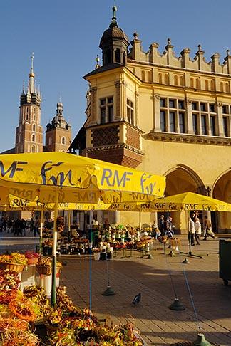 image 7-730-8468 Poland, Krakow, Rynek Glowny, Grand Square,