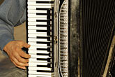 accordian stock photography | Poland, Krakow, Accordian player,closeup, image id 7-730-8504