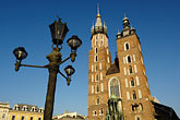 image 7-730-8512 Poland, Krakow, St Marys Church, Rynek Glowny, Grand Square