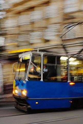 image 7-730-8675 Poland, Krakow, Tramcar