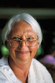 eyesight stock photography | Portraits, Woman with silver hair, image id 3-491-26