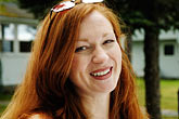 redhead stock photography | Portraits, Evelyn Pollock, Opera singer, image id 4-950-754