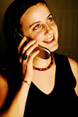 portrait stock photography | Portraits, Woman on phone, image id S5-90-5278