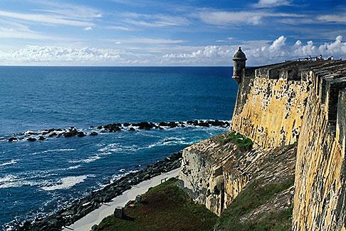 image 1-350-82 Puerto Rico, San Juan, El Morro, El Castillo San Felipe del Morro, 1549