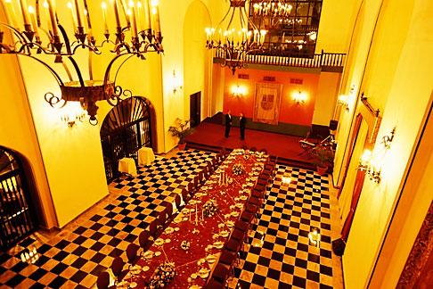 image 1-351-48 Puerto Rico, San Juan, Hotel El Convento, Dining Room