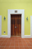 yellow stock photography | Puerto Rico, San Juan, Doorway, Old San Juan, image id 1-352-39