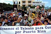 child stock photography | Puerto Rico, San Juan, Skateboarders, image id 1-352-71