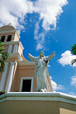 church tower stock photography | Puerto Rico, Aguadilla, Iglesia Monserrate, Moca, image id 1-352-82