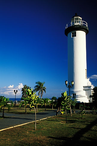 image 1-353-50 Puerto Rico, Rincon, Lighthouse El Faro