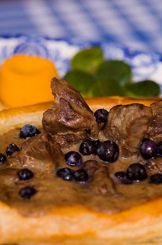image 5-750-195 Quebec Food, Caribou Bourguignon