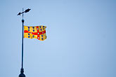 blue sky stock photography | Canada, Quebec City, Flag of Laval, Seminary of Quebec, image id 5-750-377