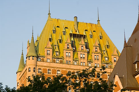 image 5-750-422 Canada, Quebec City, Chateau Frontenac