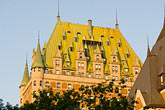 castle stock photography | Canada, Quebec City, Chateau Frontenac, image id 5-750-422