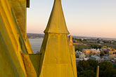 chateaux stock photography | Canada, Quebec City, Chateau Frontenac, view from the roof, image id 5-750-428