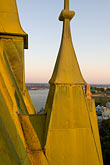 steeple stock photography | Canada, Quebec City, Chateau Frontenac, view from the roof, image id 5-750-429