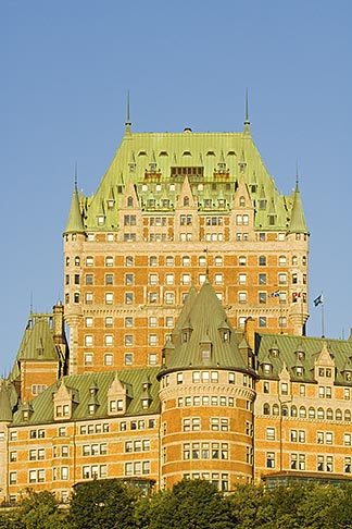 image 5-750-7994 Canada, Quebec City, Chateau Frontenac