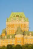 low angle view stock photography | Canada, Quebec City, Chateau Frontenac, image id 5-750-7994