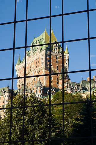 image 5-750-8016 Canada, Quebec City, Chateau Frontenac