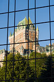 reflection stock photography | Canada, Quebec City, Chateau Frontenac, image id 5-750-8016