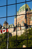 canadian flag stock photography | Canada, Quebec City, Chateau Frontenac, image id 5-750-8021
