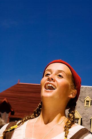 image 5-750-8060 Canada, Quebec City, Fetes de la Nouvelle France, Street performer