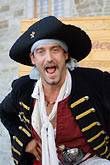 man laughing stock photography | Canada, Quebec City, F�tes de la Nouvelle France, Pirate, image id 5-750-8190
