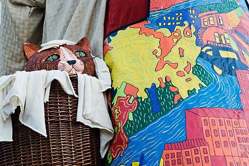 image 5-750-8262 Canada, Quebec City, Fetes de la Nouvelle France, Giant in Parade