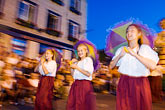 woman stock photography | Canada, Quebec City, F�tes de la Nouvelle France, Parade, image id 5-750-8395