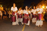 drummers stock photography | Canada, Quebec City, F�tes de la Nouvelle France, Parade, image id 5-750-8448