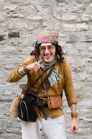 image 5-750-8671 Canada, Quebec City, Fetes de la Nouvelle France, Pirate