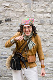 man laughing stock photography | Canada, Quebec City, F�tes de la Nouvelle France, Pirate, image id 5-750-8671